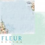 Бумага цветочная синева, коллекция цветы прованса