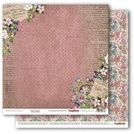 Бумага цветущий сад, коллекция бохо