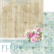 Бумага цветы и кружево, коллекция летний сад