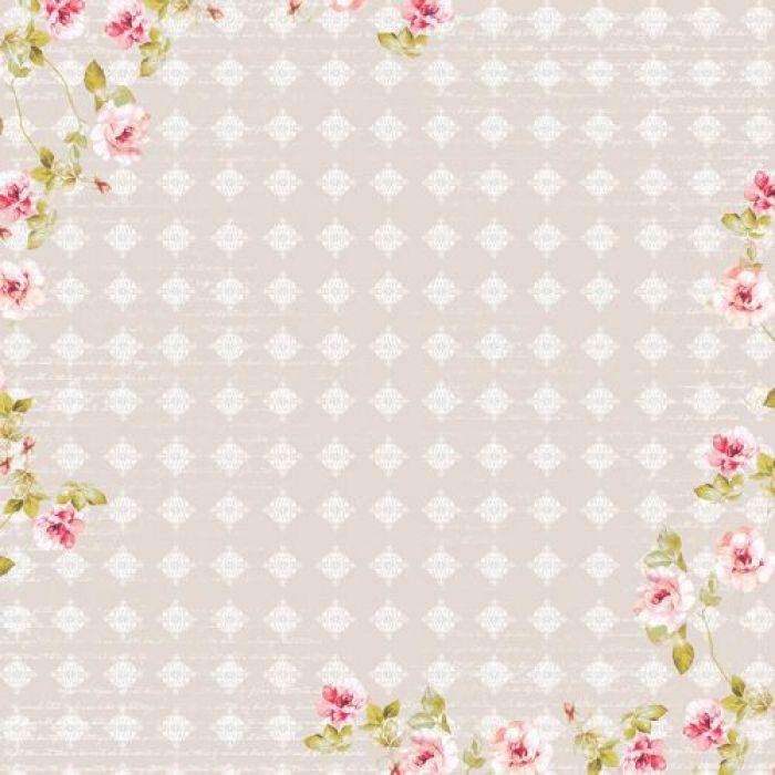 Бумага эхо весны, коллекция цветущий сад для скрапбукинга