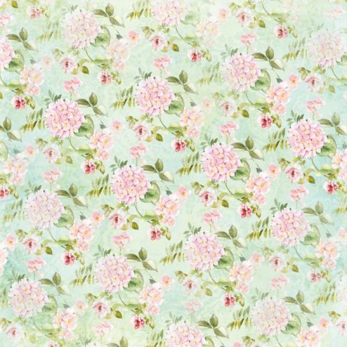 Бумага гортензия, коллекция цветущий сад для скрапбукинга