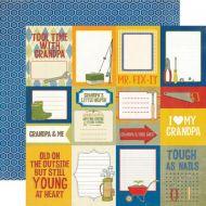 Бумага Journaling, коллекция Grandpa's Tool Shed