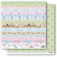 Бумага карточки 1, коллекция шебби кошки
