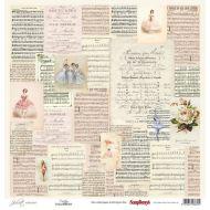 Бумага музыка, коллекция Джульетта
