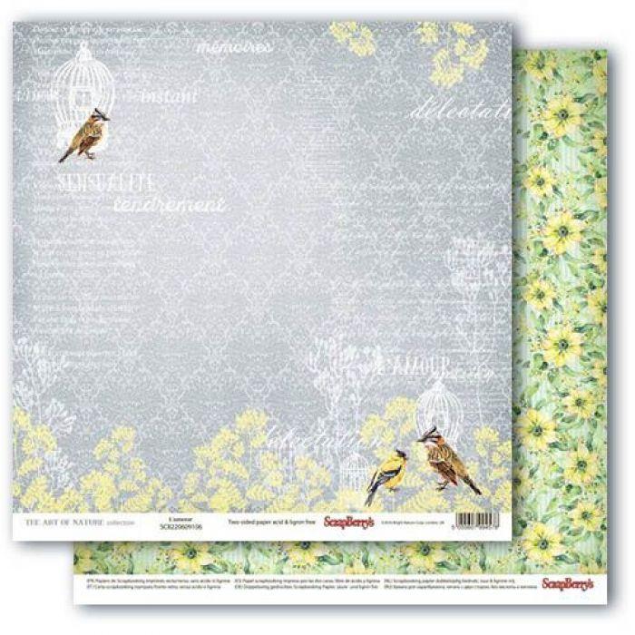 Бумага о, эта любовь, коллекция разрисованная вуаль для скрапбукинга