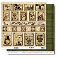 Бумага перфокарта, коллекция механические иллюзии