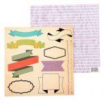 Бумага плашки, коллекция наслаждайся каждым моментом