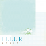 Бумага подснежник, коллекция зарисовки весны