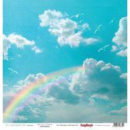 Бумага радуга, коллекция жизнь прекрасна