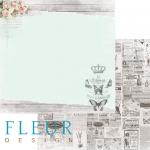 Бумага счастье, коллекция цветы прованса