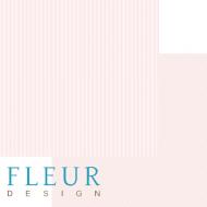 Бумага ванильно - розовый, коллекция чисто и просто базовая