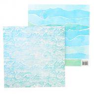 Бумага волны, коллекция мое море