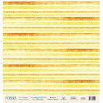 Бумага Yellow strips, коллекция Sea Party
