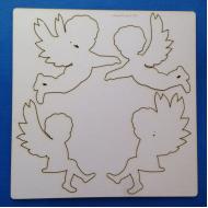 Чипборд ангелочки