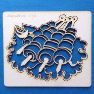 Чипборд композиция шашлыки