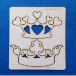 Чипборд короны