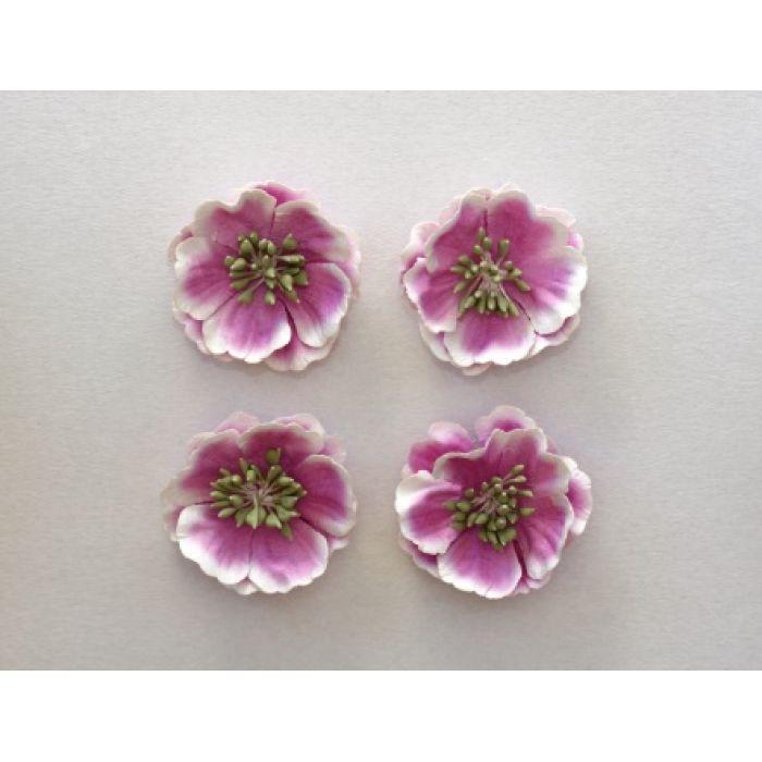 Цветы анемоны нежно-сиреневые для скрапбукинга