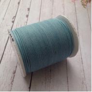 Детский голубой вощёный шнур