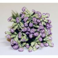 Фиолетовый декоративный букет