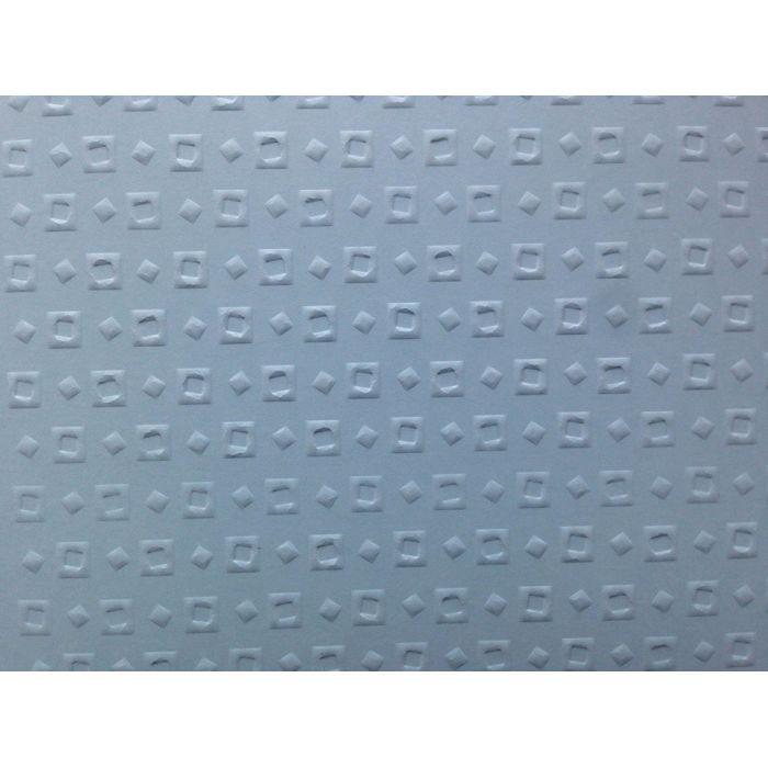 Голубая бумага с тиснением кубики для скрапбукинга