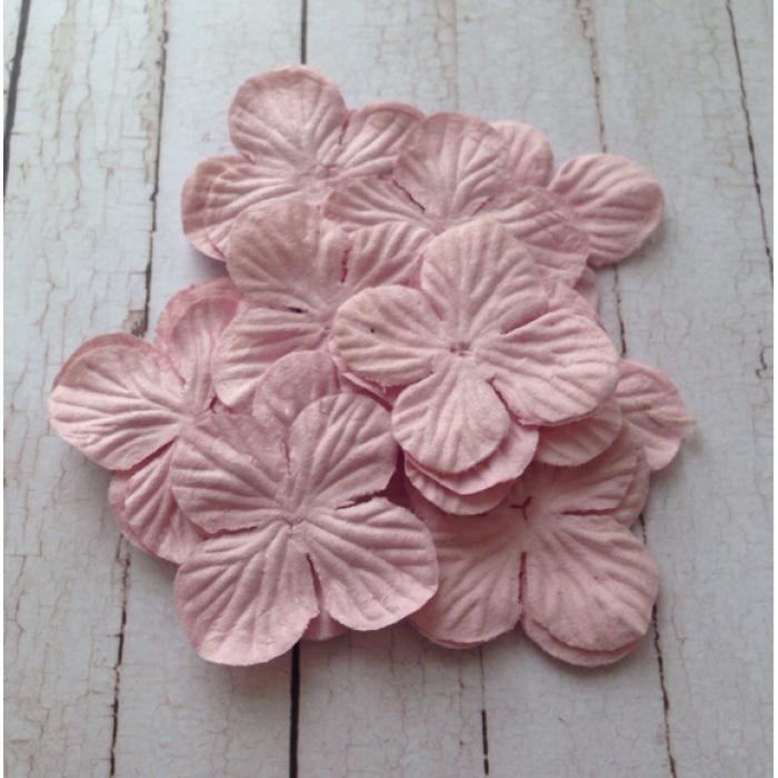 Гортензии розовые 3,5 см для скрапбукинга