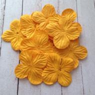 Гортензии жёлтые 3,5 см