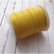 Лимонный вощёный шнур
