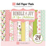 Набор бумаги Bundle of Joy Girl 15 х 15 см