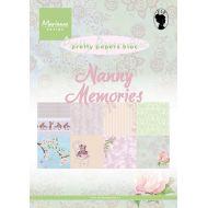 Набор бумаги Nanny Memories А5