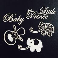 Набор чипборда маленькая принцесса
