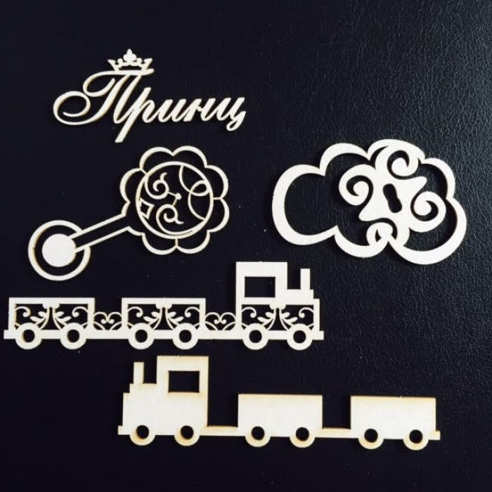 Набор чипборда маленький принц для скрапбукинга