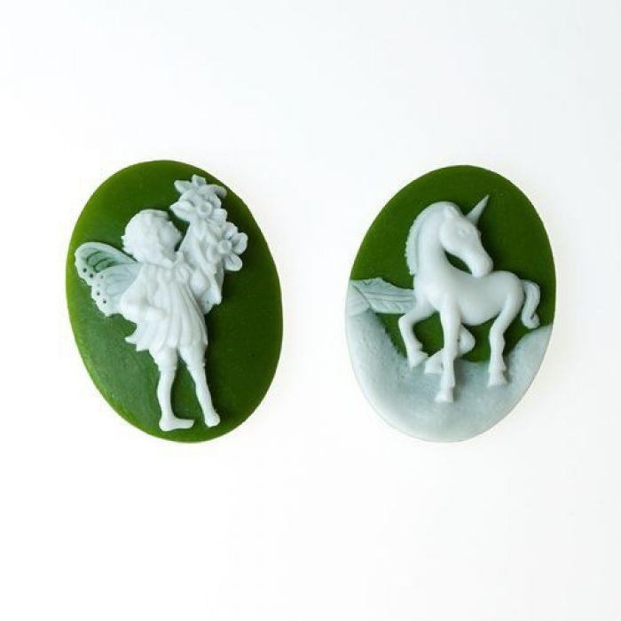 Набор камей романтический для скрапбукинга