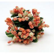 Оранжевый декоративный букет 1