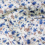 Отрез ткани голубые розы