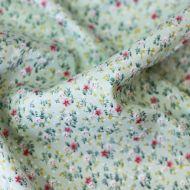 Отрез ткани мелкие цветочки