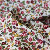 Отрез ткани рисованные цветы