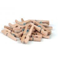 Прищепки деревянные натуральные