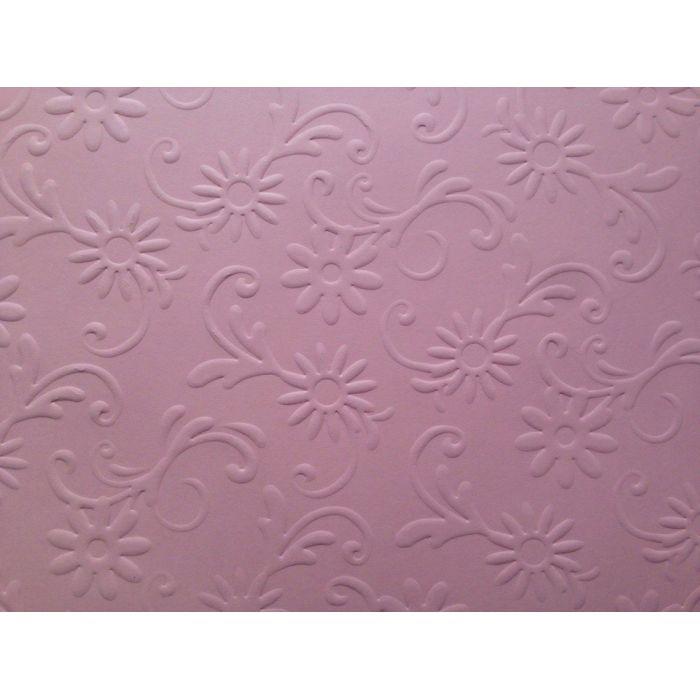 Розовая бумага с тиснением цветы с завитками для скрапбукинга