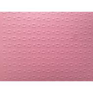 Розовая бумага с тиснением кубики
