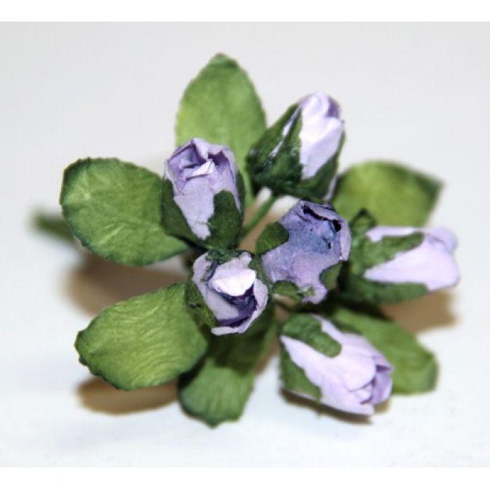 Сиреневый букет бутонов роз для скрапбукинга