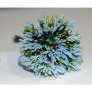 Светло-голубой декоративный букетик