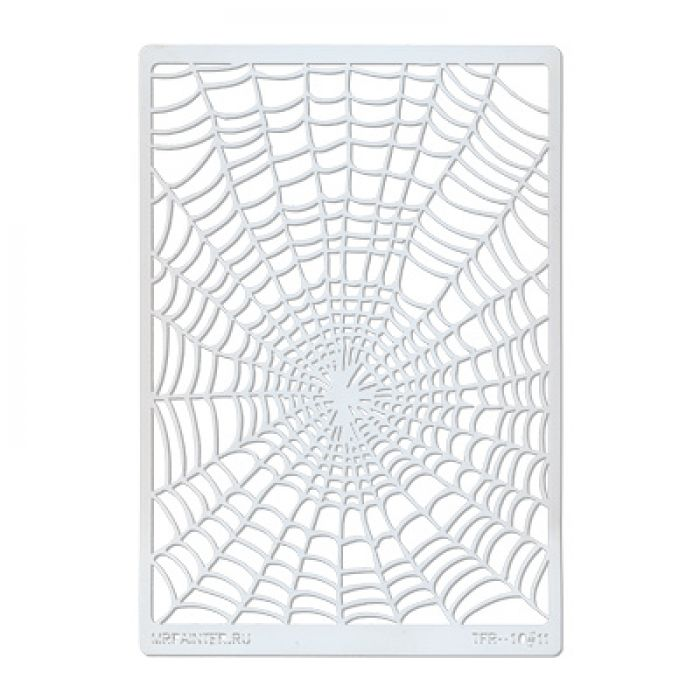 Трафарет-маска паутинка для скрапбукинга
