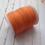 Тёмно-оранжевый вощёный шнур