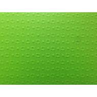 Ярко-зелёная бумага с тиснением кубики