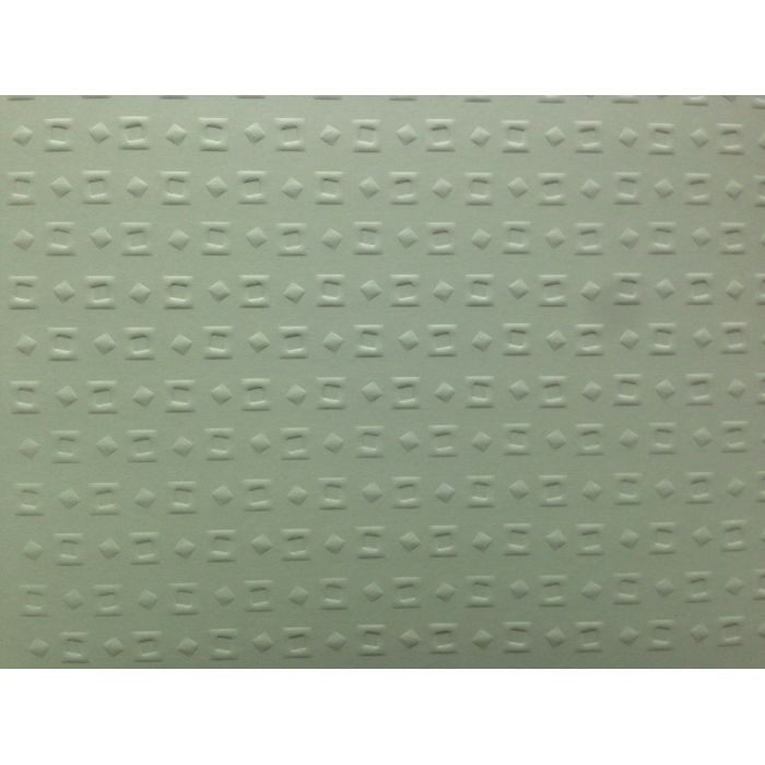 Зелёная бумага с тиснением кубики для скрапбукинга