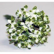 Зелёный декоративный букет