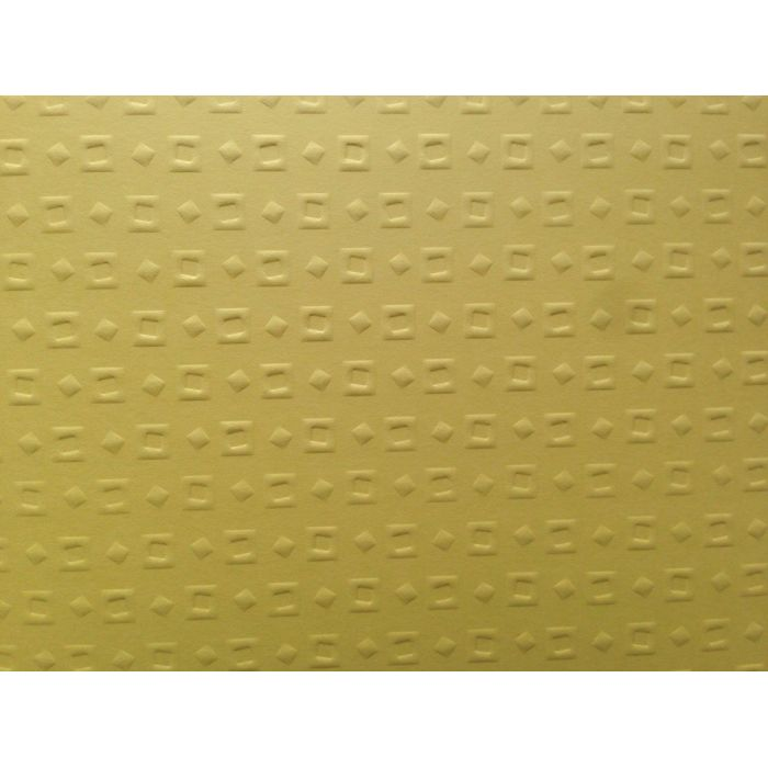 Жёлтая бумага с тиснением кубики для скрапбукинга