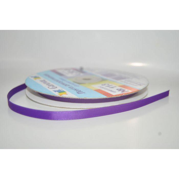 Лента репсовая фиолетовая для скрапбукинга