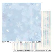 Бумага 1, коллекция снежные узоры