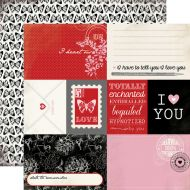 Бумага Journaling Cards, коллекция Words of Love